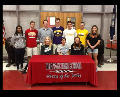 Heritage Athletes Moving on to College