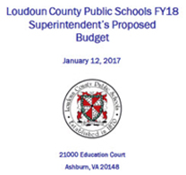 LCPS FY 2018 Superintendent's Proposed Budget