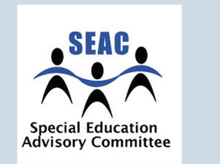 SEAC Monthly Meeting Tuesday