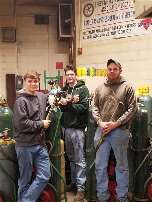 MTC Students District 10 Welding Competition