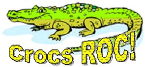 Crocs ROC! KWC Crocodile Mascot