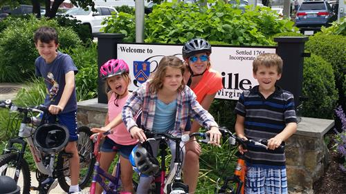 Biking in Purcellville