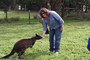 Mrs. Ciardiello visits Australia