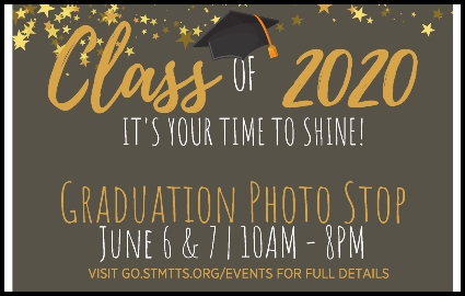 Class of 2020: Graduation Photo Stop on June 6th and 7th