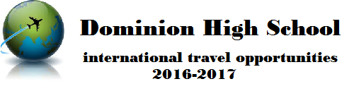 DHS International Travel Banner