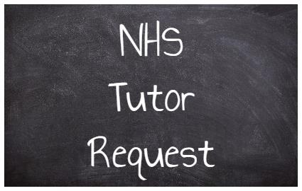 NHS Tutor Request