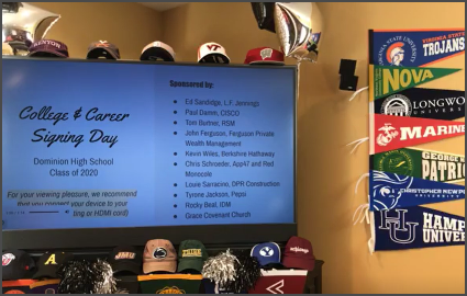 College and Career Signing Day Video