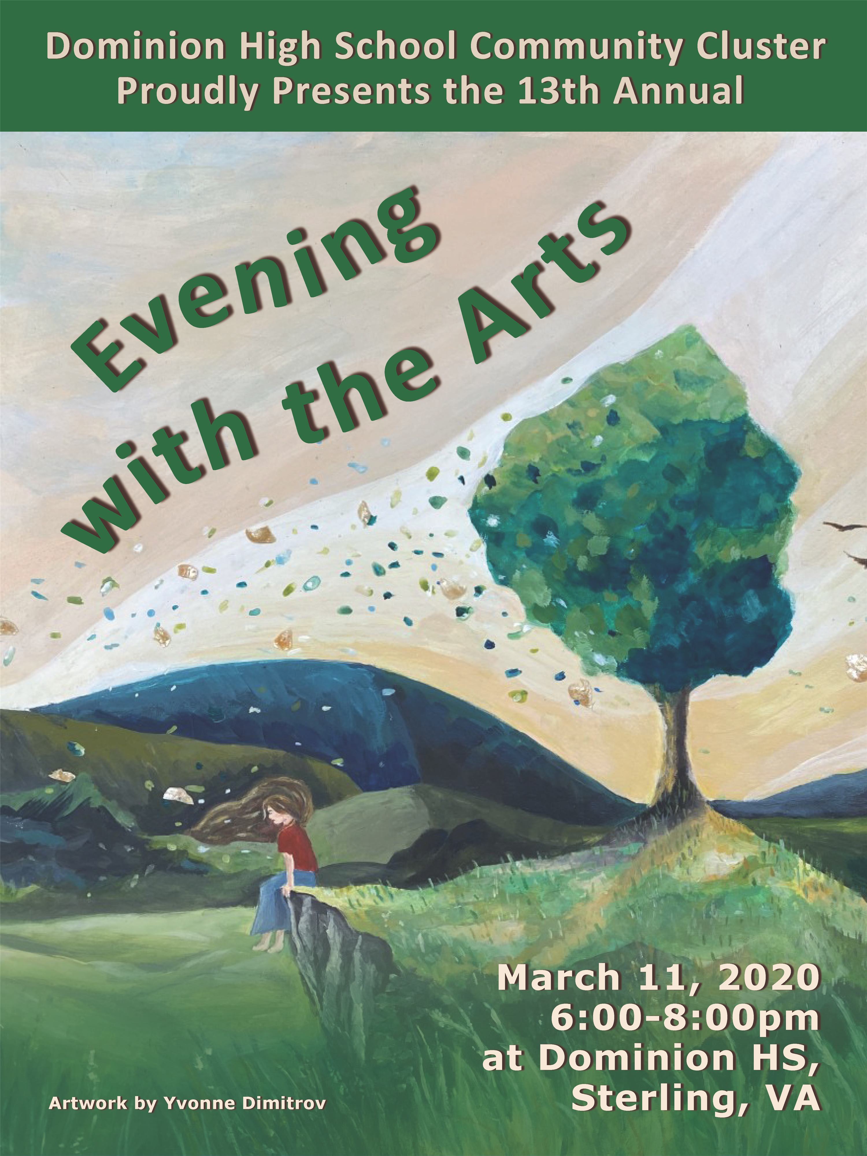 Evening with the Arts March 11
