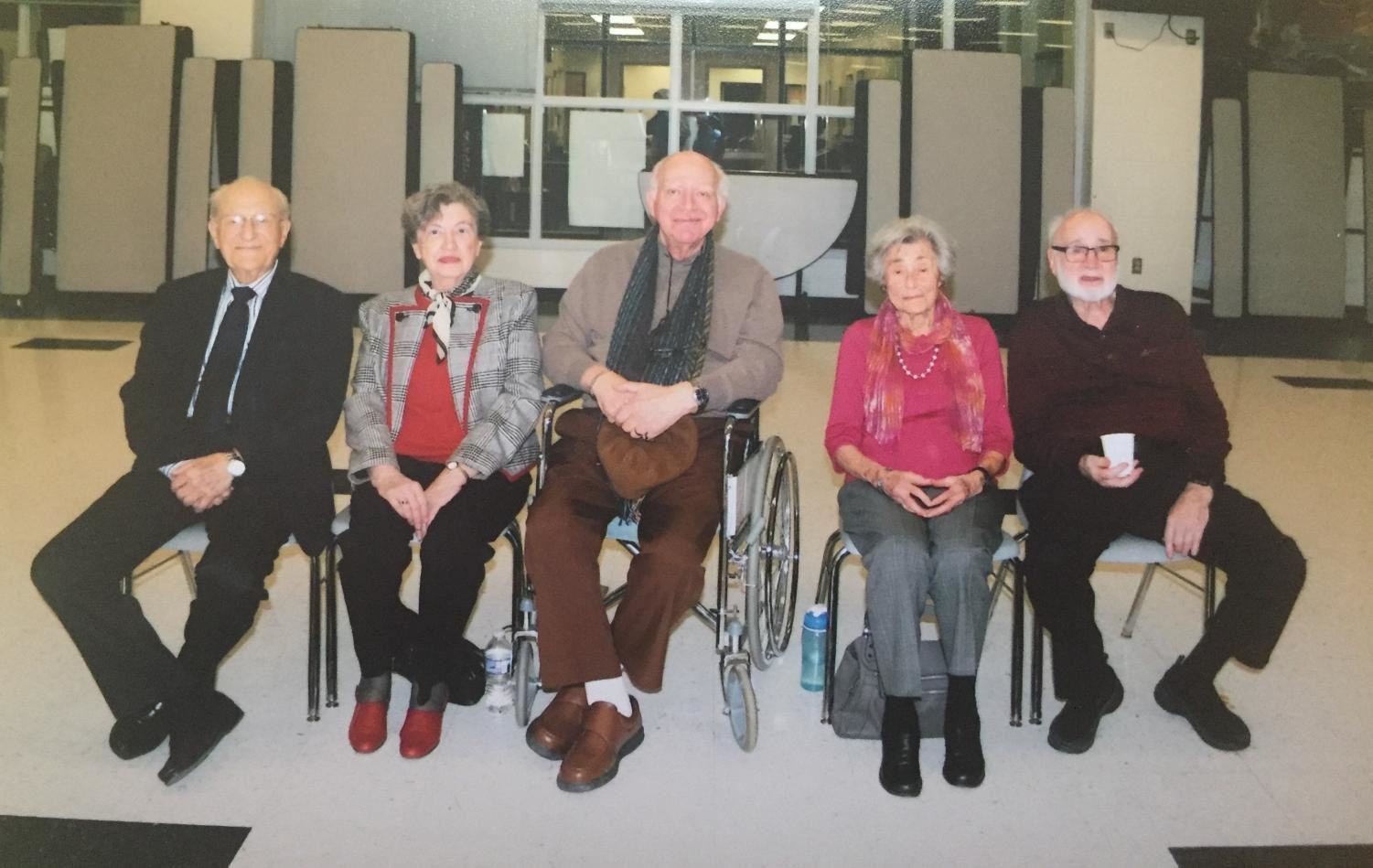 Holocaust Survivors visit DHS for Adopt-A-Survivor Event