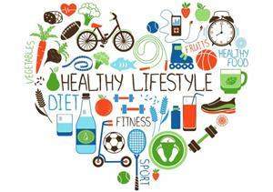 Healthy lifestyle heart