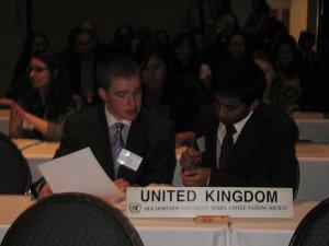 Head delegate
