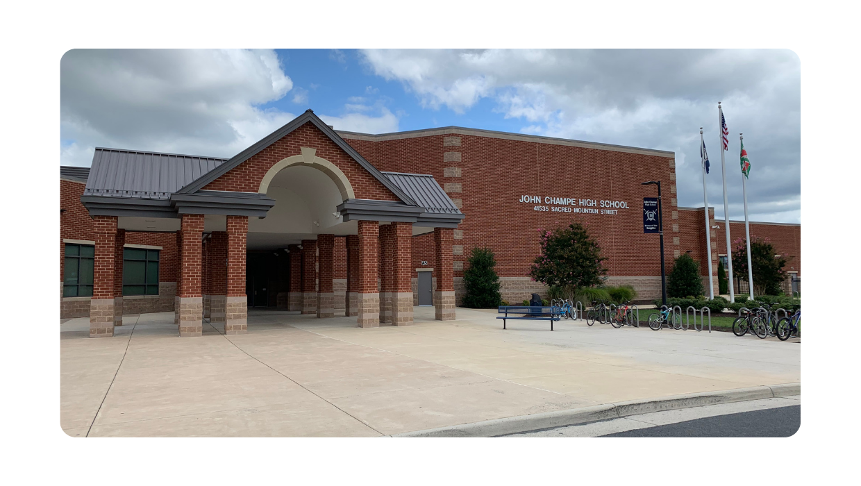 Photo of John Champe High School