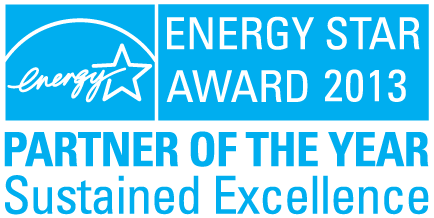 2013 EPA ENERGY STAR Partner of the Year - Sustained Excellence Award