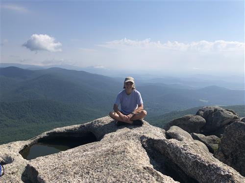 On top of Old Rag