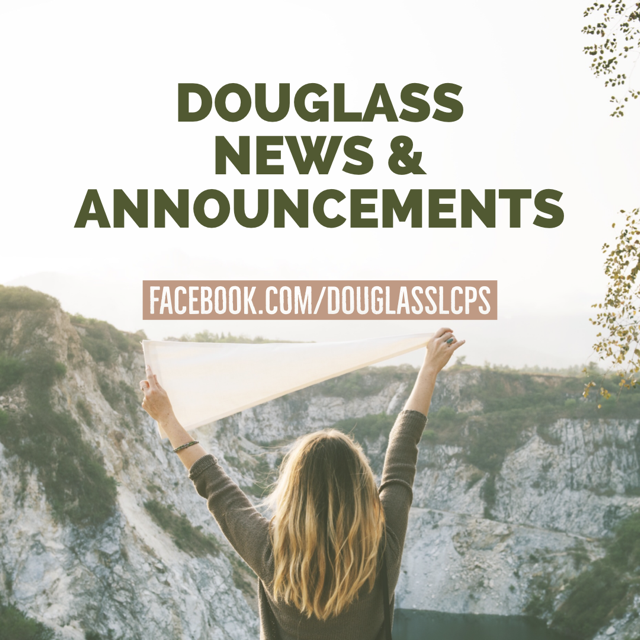 Douglass Announcements