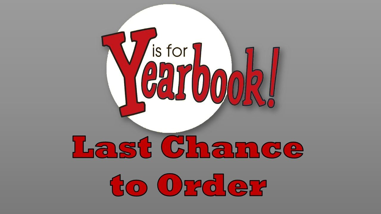 First Come First Serve - Extra Yearbooks for Sale