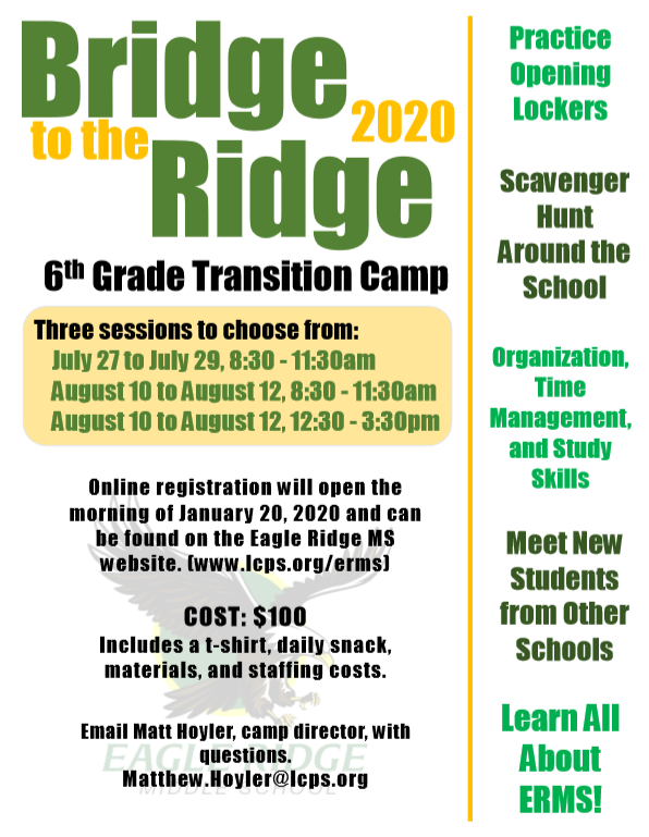 Bridge to the Ridge 2020
