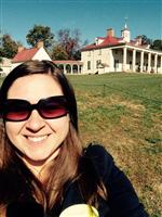 This is me at Mt. Vernon!!