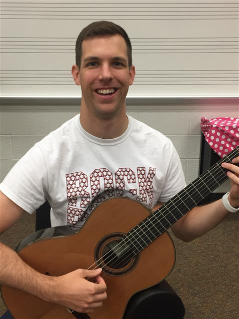 Mr. Aaron Kunk - Guitar Teacher
