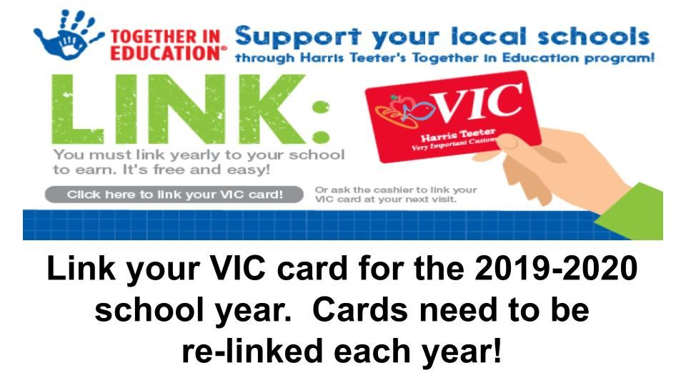 Harris Teeter VIC card