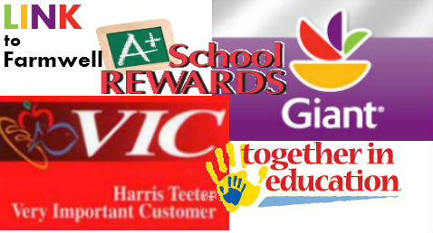 Link to Giant and Harris Teeter Cards to Farmwell