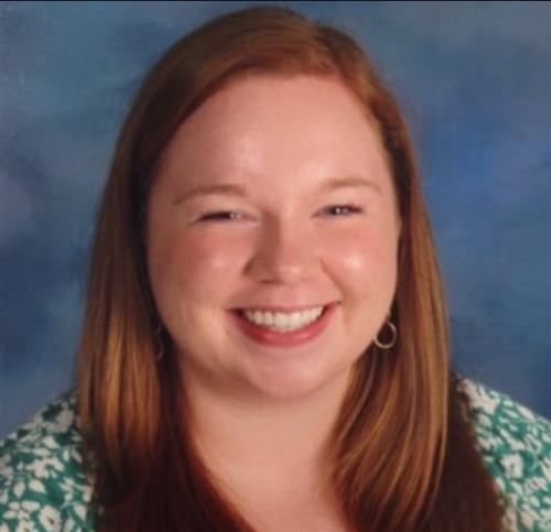 Miss Frost, 3rd Grade Teacher