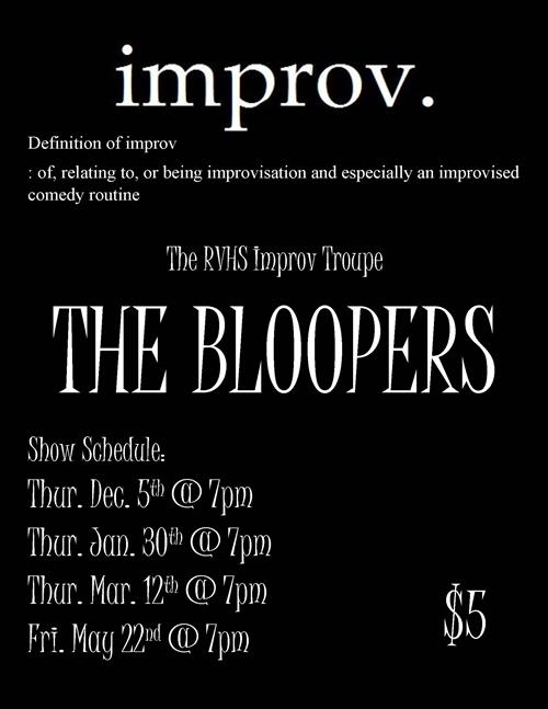 RVHS The Bloopers Improv