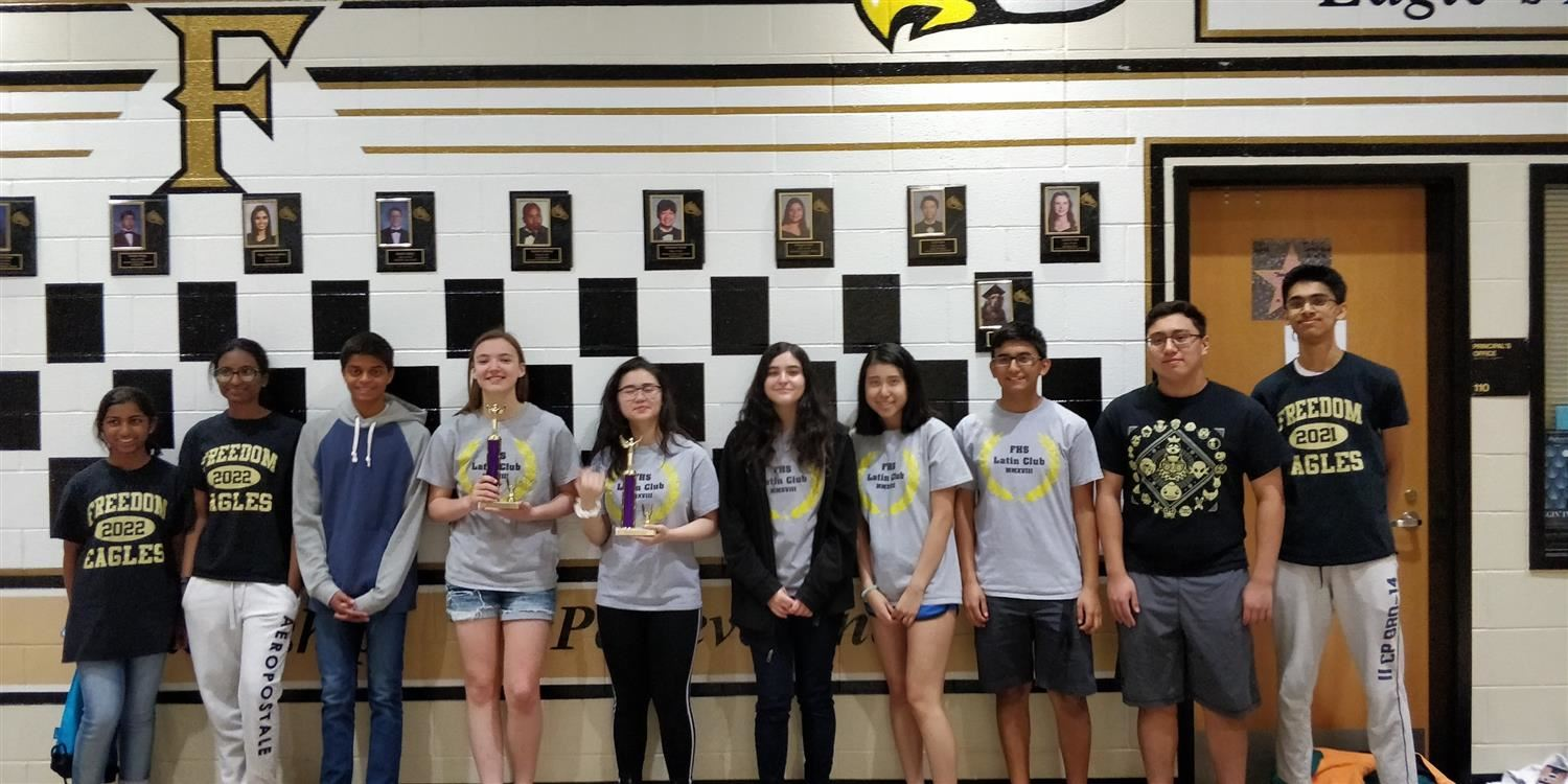 Freedom Students Place in Certamen Tournament