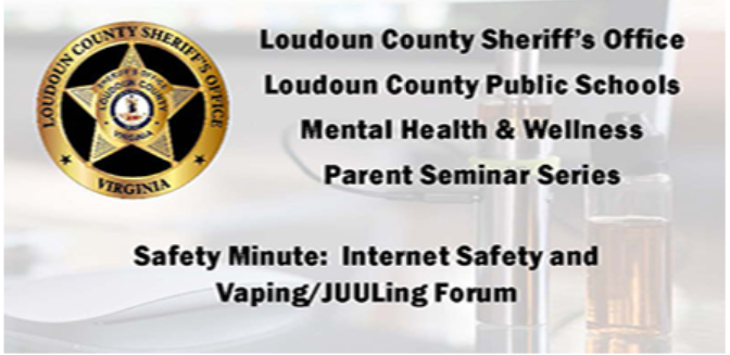 Internet Safety and Vaping/JUULing Forum