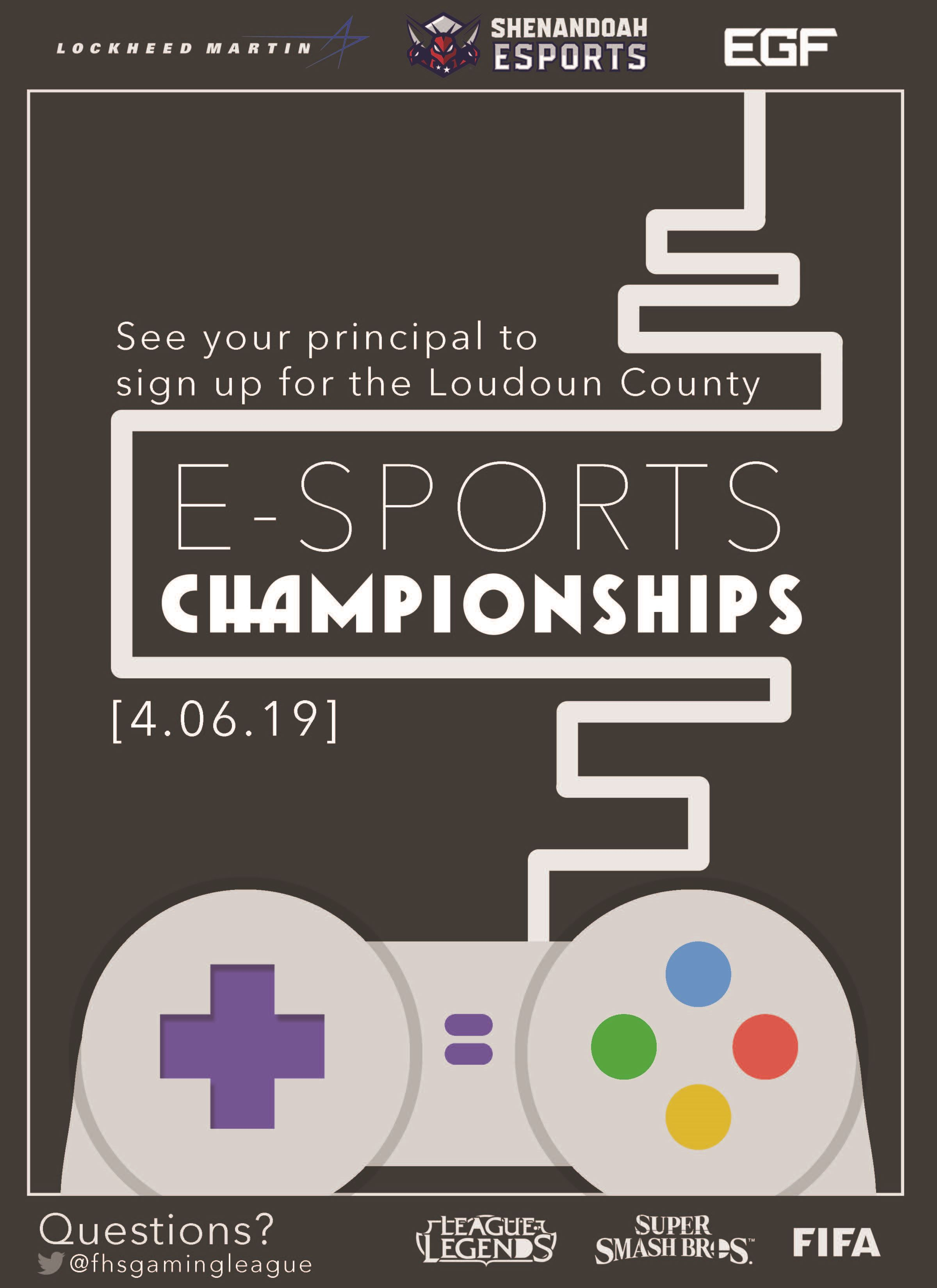 Freedom to Host E-Sports Championships