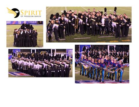 Marching Band Wraps Up Another Successful Season