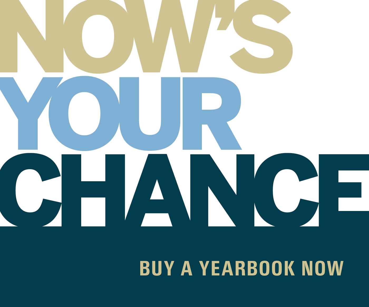 Order a yearbook!
