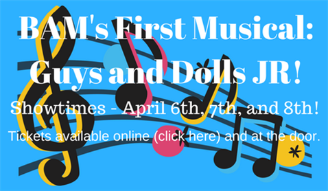 BAM's First Musical: Guys and Dolls JR