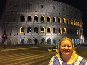 Mrs. O'Keefe in Rome, 2017