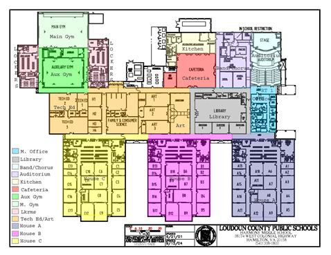 Harmony School Map