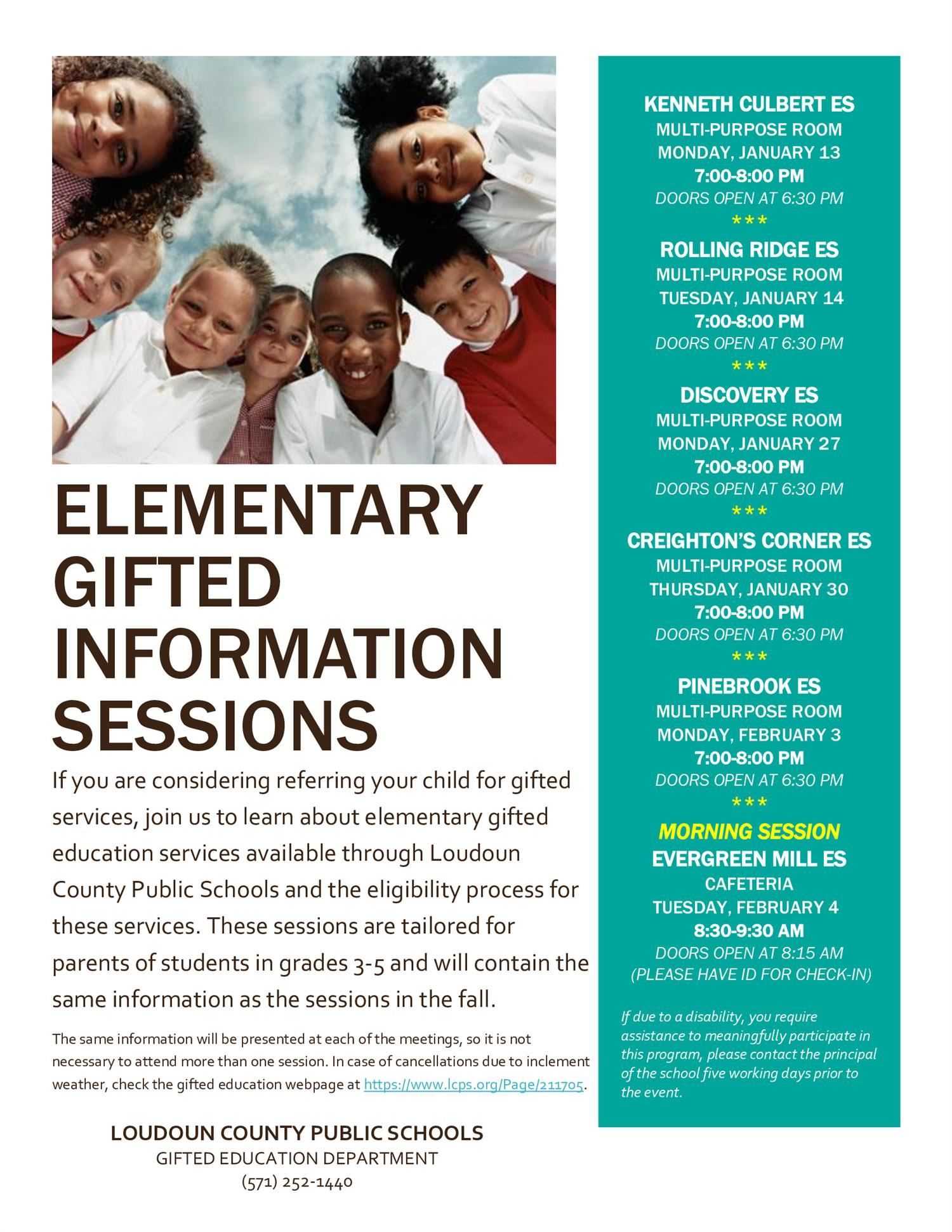 Gifted Information Session