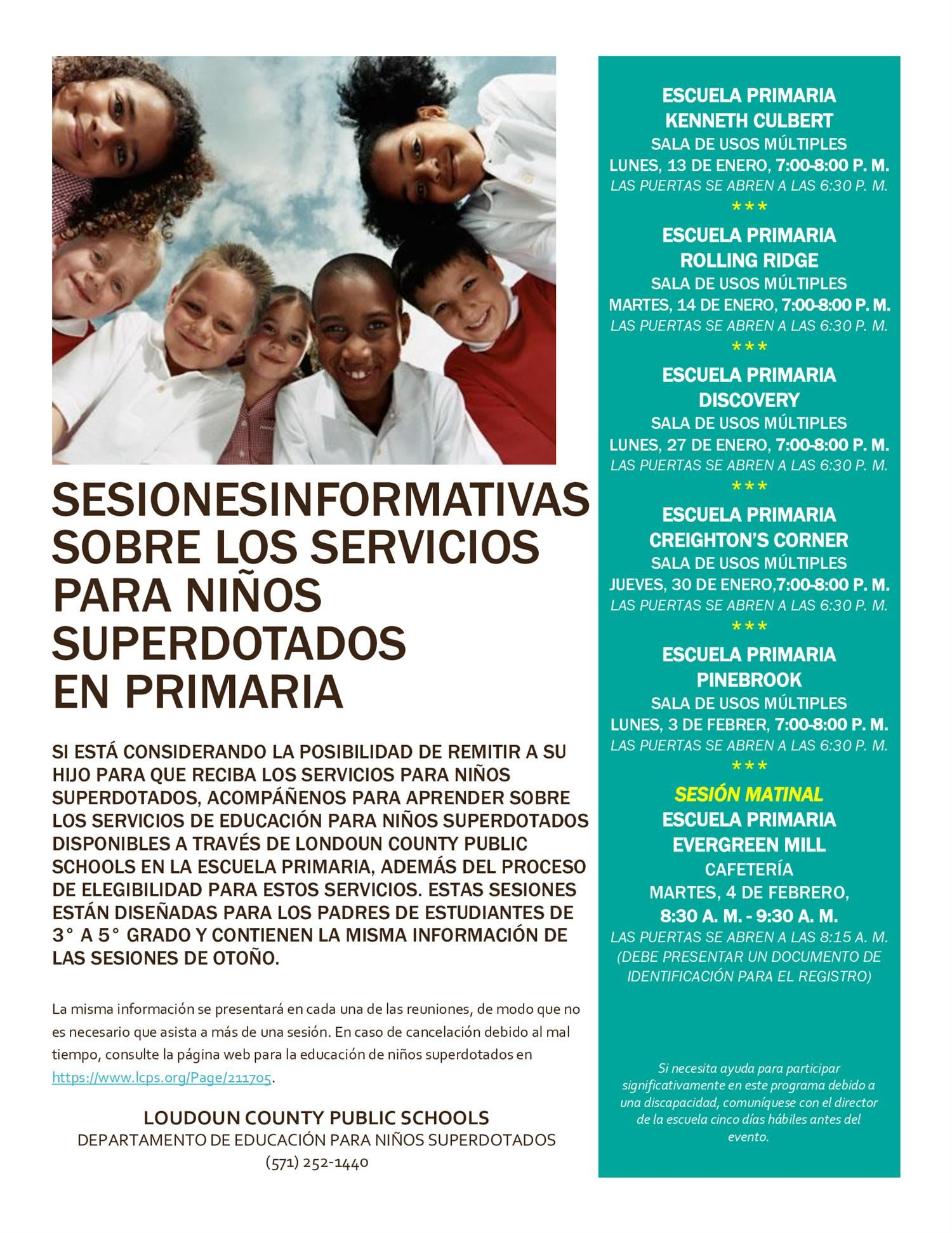 Gifted Information Session (Spanish)