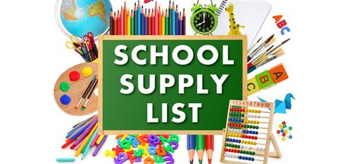 2019-20 School Supply Info
