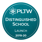 PLTW Launch turquoise seal