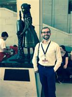 Me with Helen Keller of Alabama in the national statuary hall.