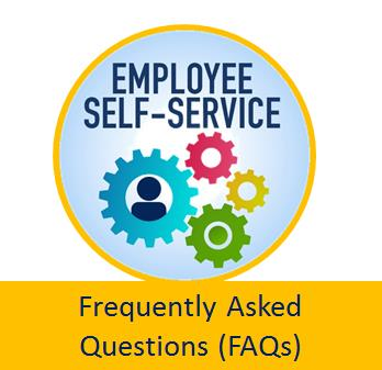 Employee Self-Service Frequently Asked Questions link