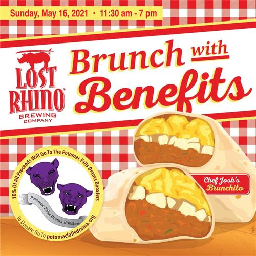 Lost Rhino Fundraiser: May 16 11:30a-7p
