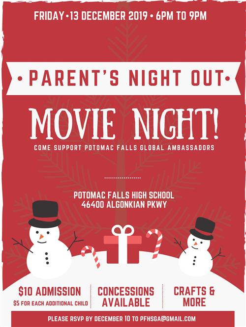 Movie Night Dec. 13