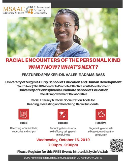 Racial Encounters of the Personal Kind - Oct. 16