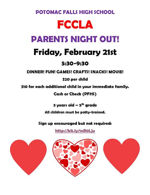 Parents Night Out - Feb. 21