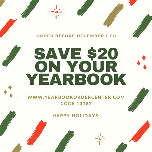 Save $20 on your Yearbook