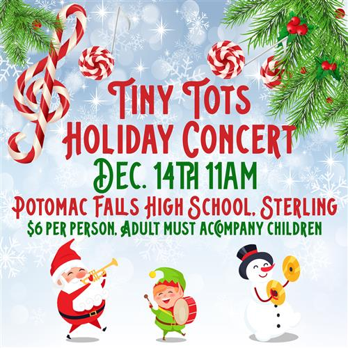 Tiny Tots Holiday Concert - Dec. 14