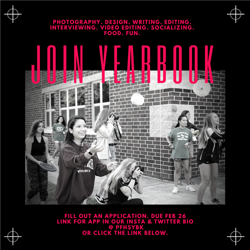 Join the Yearbook