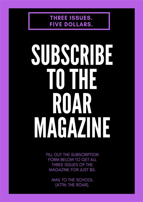 Subscribe to the Roar
