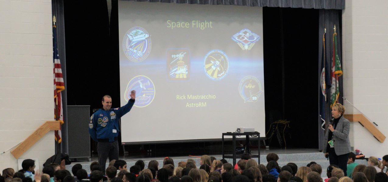 Out of this world presentation from Astronaut Mastracchio
